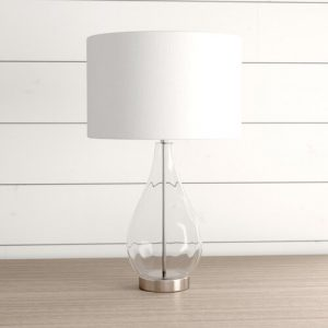 Dimpled Table Lamp in Silver Pacific Lifestyle