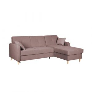 Fire Corner Sofa Bed Home & Haus Orientation: Right Hand Facing, Upholstery Colour: Cappuccino