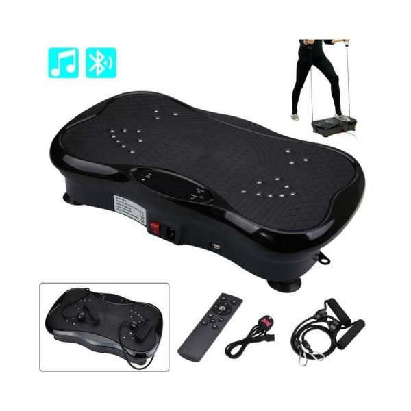 Fitness Vibration Plate & Accessories With Bluetooth