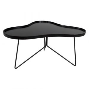 Flow Coffee Table Leitmotiv Colour: Black