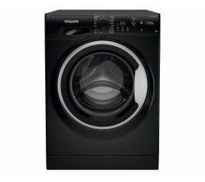 HOTPOINT Coreu0026tradeNSWM 1043C BS UK N 10 kg 1400 Spin Washing Machine - Black, Black