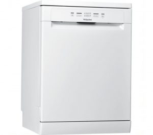 HOTPOINT HFE 2B C N UK Full-size Dishwasher - White, White