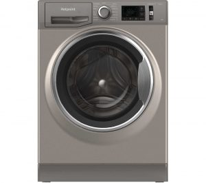 HOTPOINT NM11 844 GC A UK N 8 kg 1400 Spin Washing Machine - Graphite, Graphite