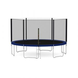 Heavy Duty 14' Above Ground Trampoline with Safety Enclosure EUMCC Trading