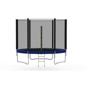 Heavy Duty 8' Above Ground Trampoline with Safety Enclosure EUMCC Trading