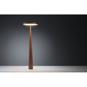 Heilgard 202cm Novelty Floor Lamp Ebern Designs Shade Colour: Rust, Base Finish: Rust