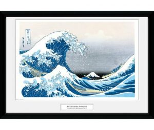 'Hokusai Great Wave' - Picture Frame Graphic Art GB Eye Ltd