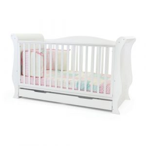 Holly Cot Bed HoneyBee Nursery Colour: White