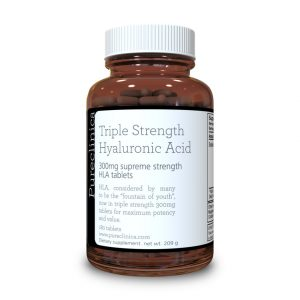 Hyaluronic Acid 300mg x 180 tablets (3 months supply). Triple Strength Hyaluronic Acid. 300% stronger than any other HLA tablet