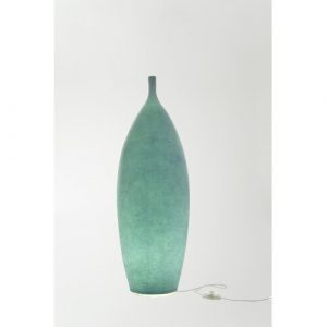 Luna Tank 92cm Floor Lamp In-es.artdesign Base Finish: Turquoise