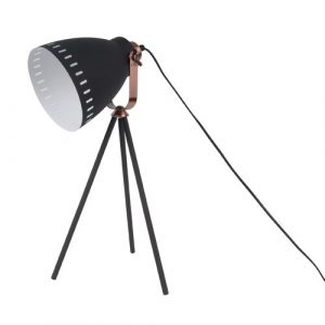 Mingle 54cm Tripod Table Lamp Leitmotiv Finish: Black