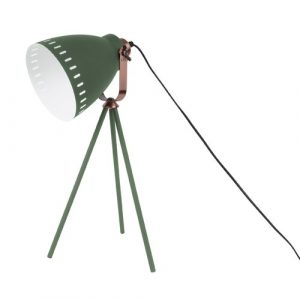 Mingle 54cm Tripod Table Lamp Leitmotiv Finish: Green