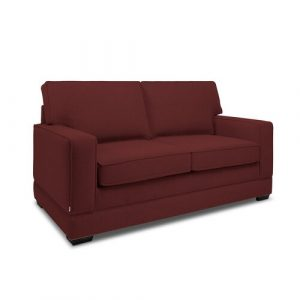 Modern Sofa 2 Seater Sofa Bed Jay-Be Upholstery Colour: Berry