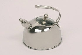 Murano 2.5 L Stainless Steel Whistling Stove Top Kettle Kelomat