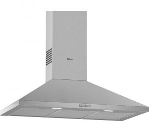 NEFF N30 D92PBC0N0B Chimney Cooker Hood - Stainless Steel, Stainless Steel