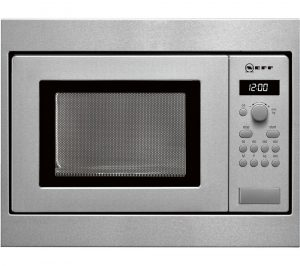 NEFF N30 H53W50N3GB Built-in Solo Microwave - Stainless Steel, Stainless Steel