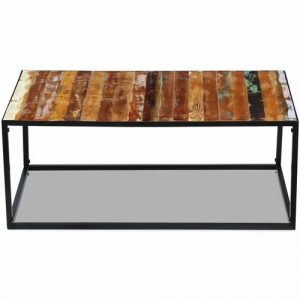 Ned Solid Reclaimed Wood Coffee Table Laurel Foundry