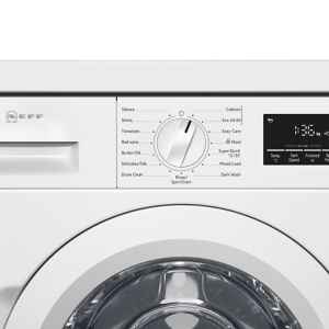 Neff White Built-in Washing machine 8kg