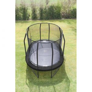 Oval 15' Backyard Trampoline with Safety Enclosure JumpKing