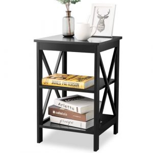 Pembrook Side Table Latitude Run Colour: Black