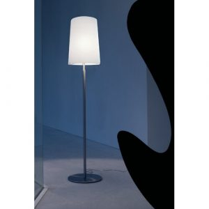 Poway 134.5cm Traditional Floor Lamp Ebern Designs Base Finish: Chrome, Shade Colour: Opal White