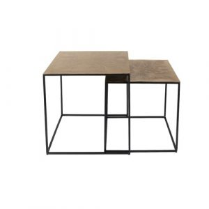 Saffra 2 Piece Coffee Table Set Dutchbone