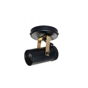 Spot 1-Light 10cm Ceiling Spotlight Dutchbone Finish: Black