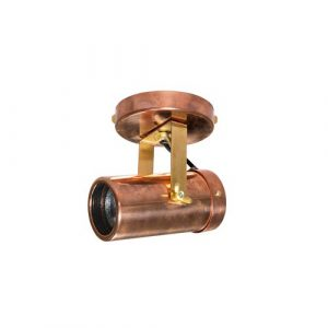 Spot 1-Light 10cm Ceiling Spotlight Dutchbone Finish: Copper
