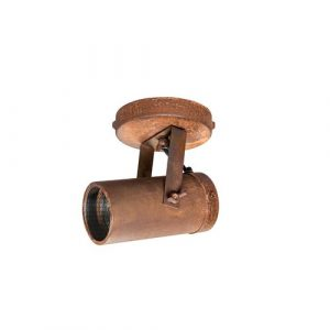 Spot 1-Light 10cm Ceiling Spotlight Dutchbone Finish: Rust