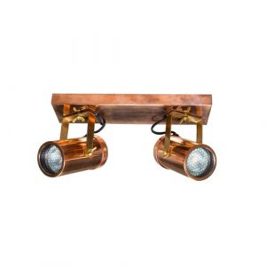 Spot 2-Light 8.5cm Ceiling Spotlight Dutchbone Finish: Copper