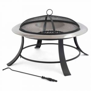 Tepro Silver City Fireplace Stainless Steel