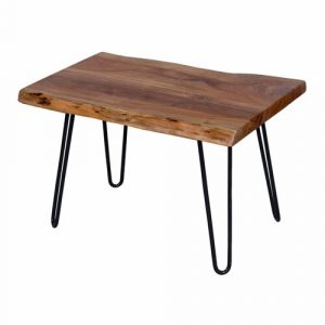 Tindle Hairpin Side Table Union Rustic