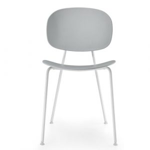 Tondina Dining Chair Infiniti Frame Colour: Almond, Leg Colour: White