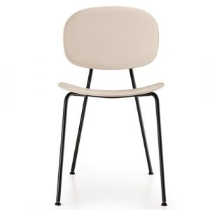 Tondina Dining Chair Infiniti Frame Colour: Rosewood, Leg Colour: Black