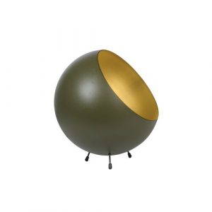 XL Bell 26cm Table Lamp Leitmotiv Finish: Moss Green