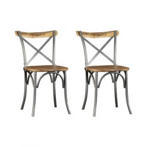 Zoie Solid Wood Dining Chair Laurel Foundry