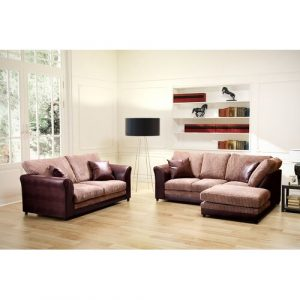 Zora 3 Piece Sofa Set Marlow Home Co. Orientation: Right Hand Facing, Upholstery: Brown