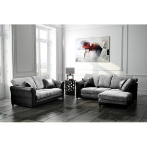 Zora 3 Piece Sofa Set Marlow Home Co. Orientation: Right Hand Facing, Upholstery: Grey