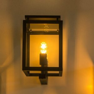 1 Light Outdoor Wall Lantern Dakota Fields