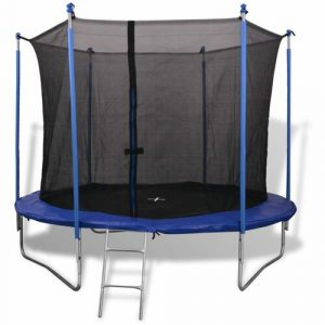 10' Backyard: Above Ground Trampoline with Safety Enclosure Freeport Park