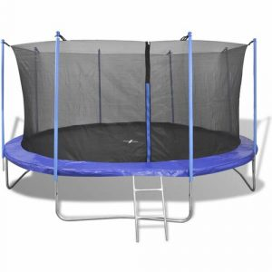 12' Backyard: Above Ground Trampoline with Safety Enclosure Freeport Park