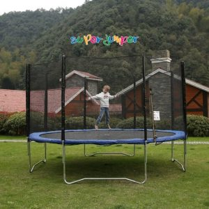 """167"""" Round Trampoline with Safety Enclosure Freeport Park"""
