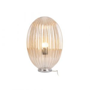 45cm Table Lamp Leitmotiv Shade Colour: Brown