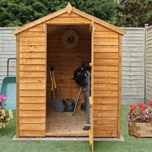 5 Ft. W x 7 Ft. D Solid Wood Garden Shed WFX Utility