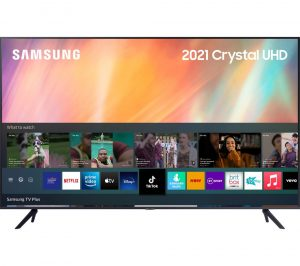 "55"" SAMSUNG UE55AU7100KXXU Smart 4K Ultra HD HDR LED TV with Bixby, Alexa & Google Assistant"