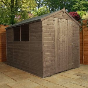 6 ft. W x 8 ft. D Solid Wood Garden Shed WFX Utility Installation Included: Yes
