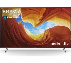 "65"" SONY BRAVIA KE75XH9005BU Smart 4K Ultra HD HDR LED TV with Google Assistant"