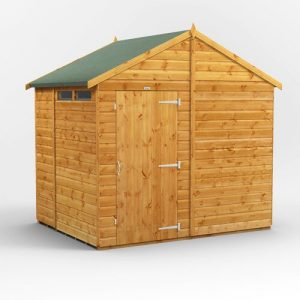 8 ft. W x 6 ft. D Solid Wood Garden Shed WFX Utility