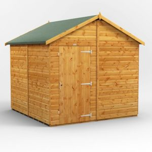8 ft. W x 8 ft. D Solid Wood Garden Shed WFX Utility