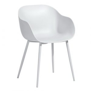 Able Dining Chair Hashtag Home Colour: White
